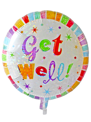 Gift Accessories - Get Well 18 inches Helium Balloon - L175205 Photo