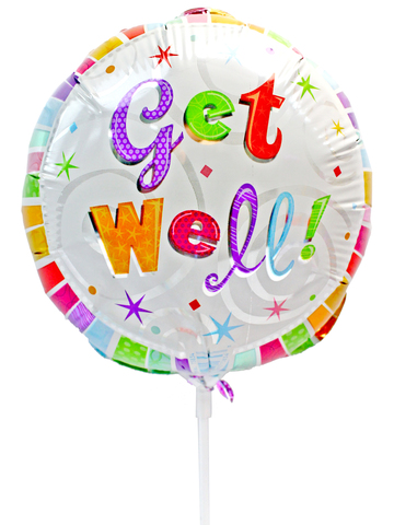 Gift Accessories - Get Well 6 inches Balloon - L175135 Photo