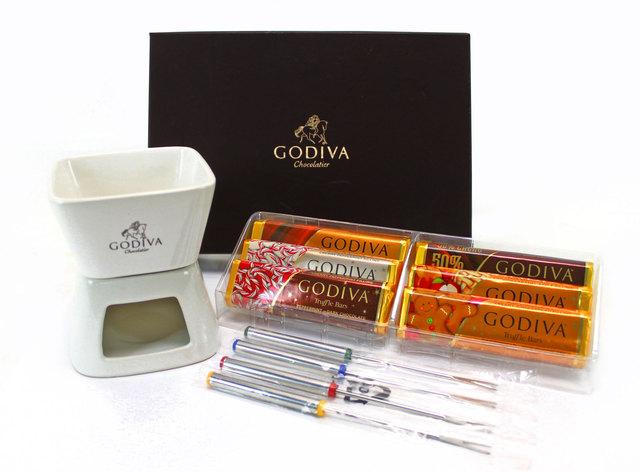 Gift Accessories - Godiva Chocolate Fondue Set - L37699 Photo