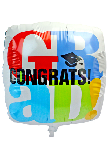 Gift Accessories - Graduation 18 inches Helium Balloon - L175195 Photo