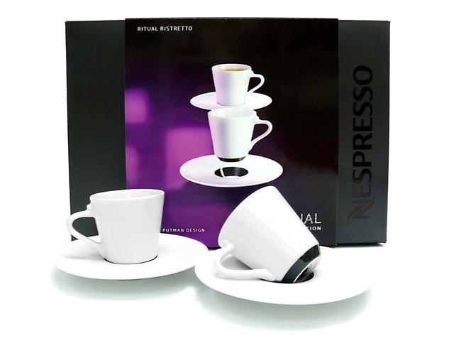 gift accessories nespresso ritual ristretto cups. Black Bedroom Furniture Sets. Home Design Ideas