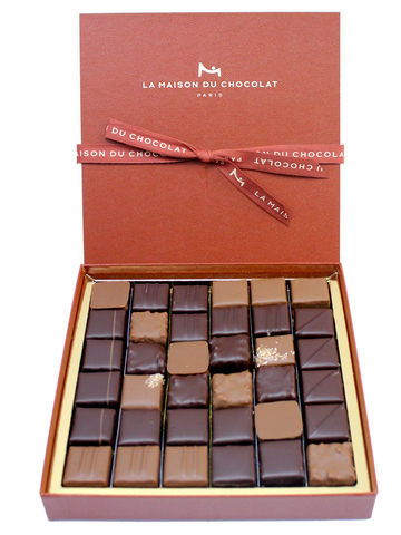 gift accessories paris la maison du chocolat 36 pieces chocolates gift box l102377 give. Black Bedroom Furniture Sets. Home Design Ideas
