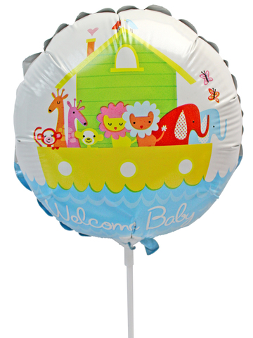 Gift Accessories - Welcome Baby 6 inches Balloon - L175133 Photo