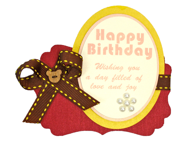 Gift n Birthday Card - Gift n Birthday Card - HK Designer Handmade Birthday Tag 11 - L176132 Photo