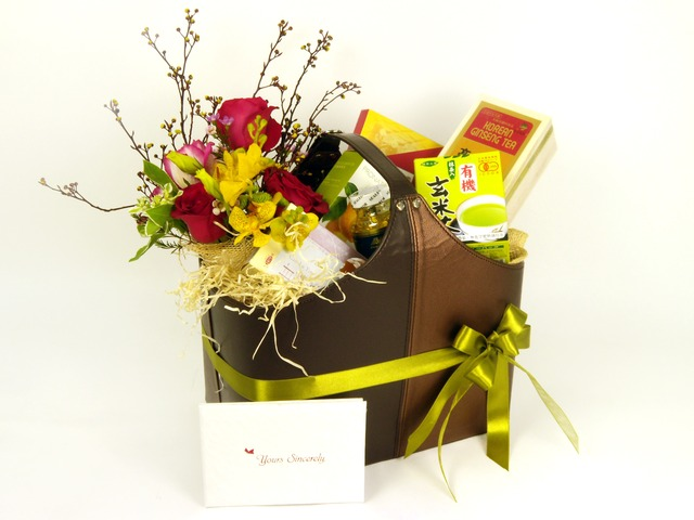 Health Gift - Flowers and Health (A) - P7383 Photo