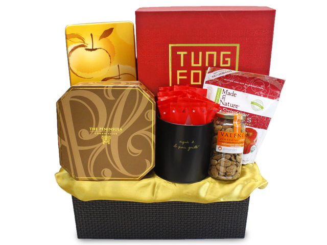 Mid-Autumn Gift Hamper - Mailable worldwide - (7) ShopThurPost - Mid Autumn Mooncake Fruit Hamper - L90261 Photo