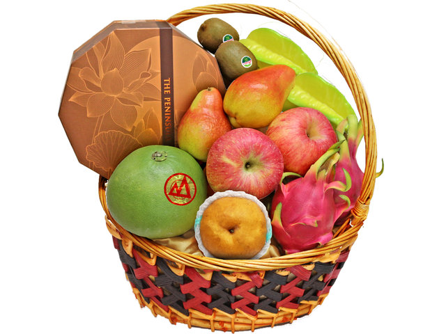 Mid-Autumn Gift Hamper - Mid Autumn Fruit Basket M17 - L138564 Photo