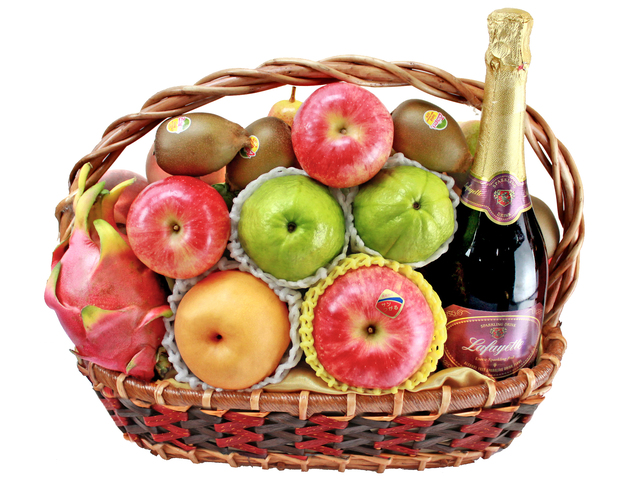 Mid-Autumn Gift Hamper - Mid Autumn Fruit Basket M20 - L138636 Photo