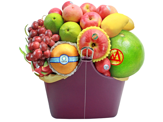 Mid-Autumn Gift Hamper - Mid Autumn Fruit Hamper M21 - L139493 Photo