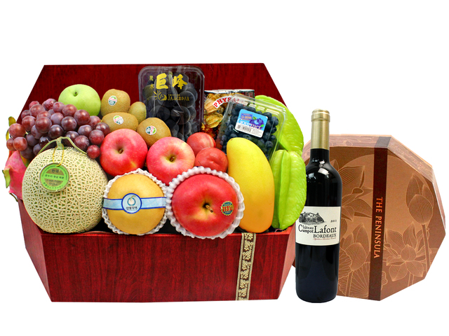 Mid-Autumn Gift Hamper - Mid Autumn Fruit Hamper M81 - L1294174 Photo