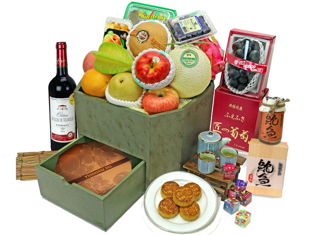 Mid-Autumn Gift Hamper - Mid Autumn Mooncake Hamper M68 - L76608093 Photo