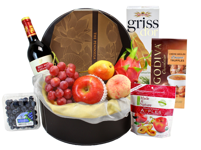 Mid-Autumn Gift Hamper - Mid Autumn Mooncake Wine Hamper (13)  - L40614 Photo
