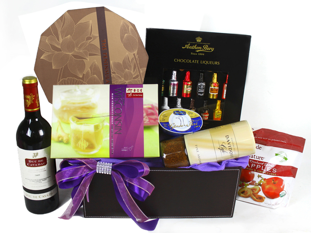 Mid-Autumn Gift Hamper - Mid Autumn Wine Mooncake Hamper (21)  - L41999 Photo
