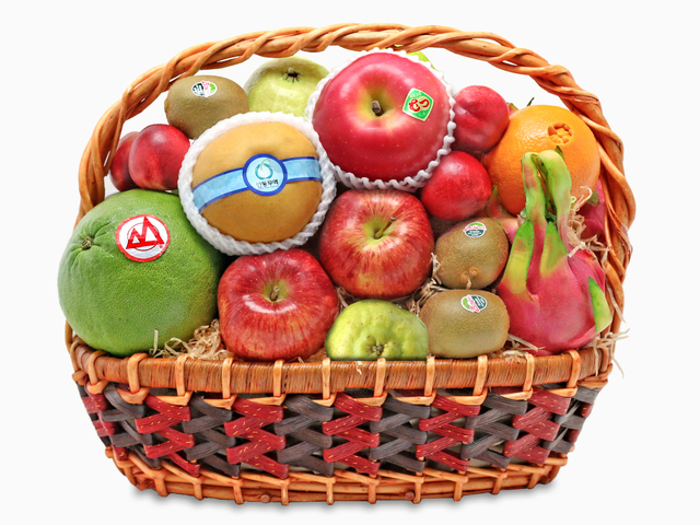 Mid-Autumn Gift Hamper - Mid autumn fruit basket A50 - L76600801 Photo
