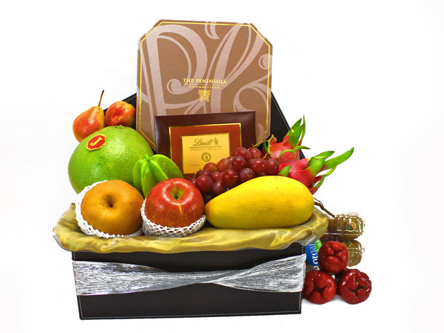 Mid-Autumn Gift Hamper - ShopThurPost - Mid Autumn Mooncake Fruit Hamper(3)  - L40683 Photo