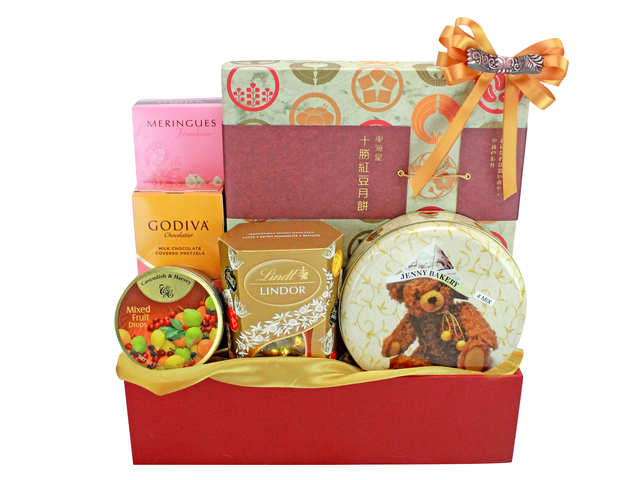 Mid-Autumn Gift Hamper - ShopThurPost - Mid Autumn Mooncake Fruit Hamper M67 - L140565 Photo