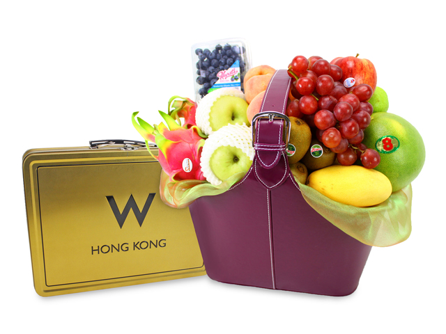 Mid-Autumn Gift Hamper - W Hotel Mid-Autumn Fruit Basket W5 - L89089 Photo