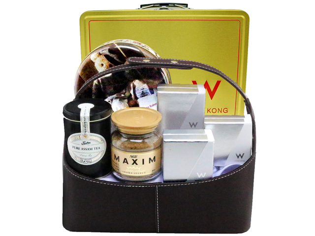 Mid-Autumn Gift Hamper - mid autumn mailable w hotel moon cake hamper A15 - L76601978 Photo