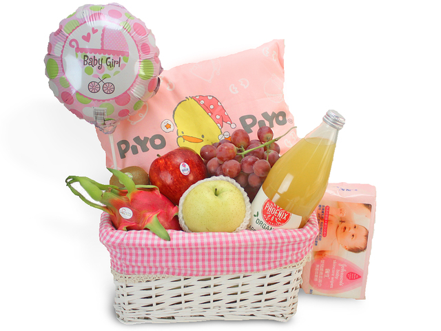 New Born Baby Gift - 2012 Baby Hamper K2 - L69136 Photo