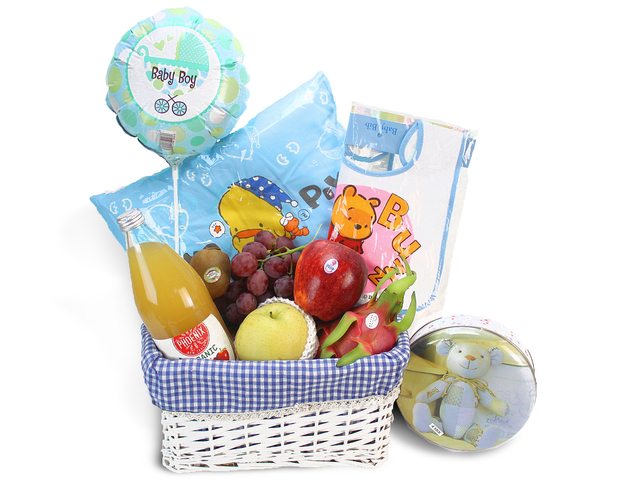 New Born Baby Gift - 2012 Baby Hamper K8 - L69121 Photo