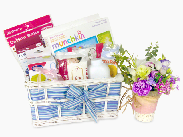 New Born Baby Gift - BB basket  (E) - P15514 Photo
