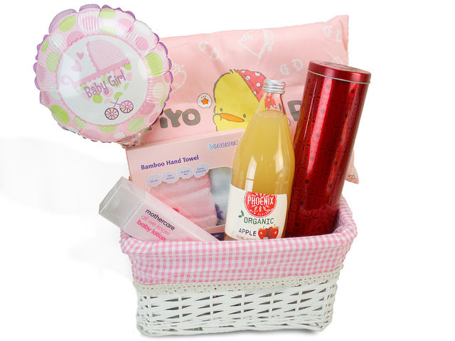 New Born Baby Gift - Baby Hamper K6 - L69124 Photo