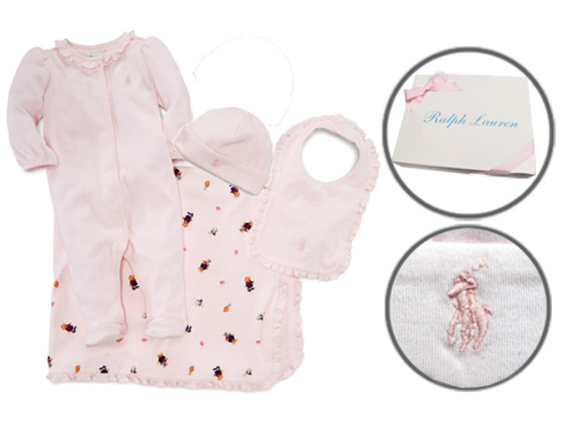 Polo Baby Gift Sets : New born baby gift polo ralph lauren premium