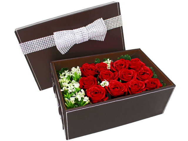 Order Flowers in Box - Fall In Love - B0011417 Photo
