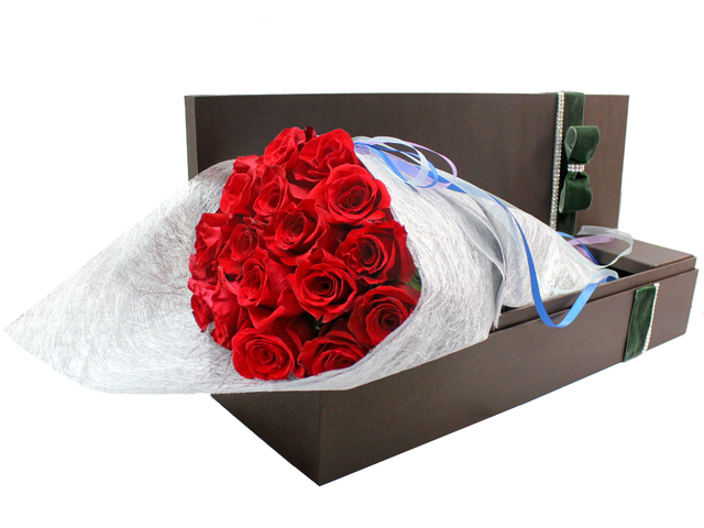 Order Flowers in Box - Forever Love - B3103913 Photo
