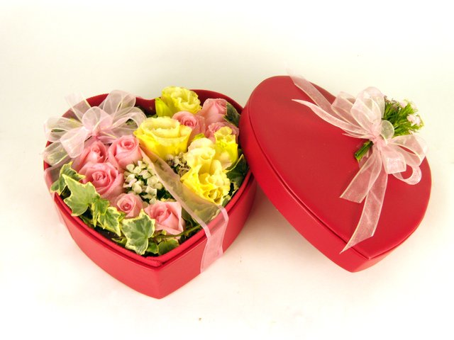 Order Flowers in Box - More and More  - P9516 Photo