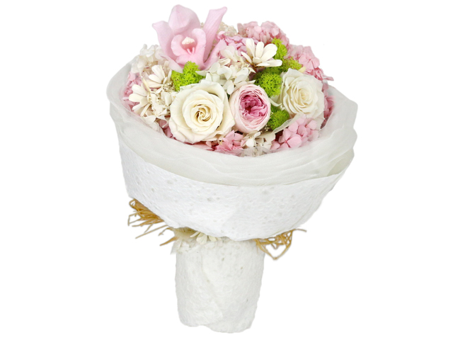 Preserved Forever Flower - Puppy Love Preserved Flower Bouquet M26 - L36515306 Photo