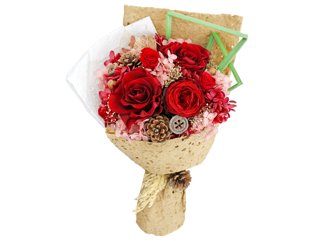 Preserved Forever Flower - The Moment with U Preserved Flower Bouquet M22 - L36514429 Photo