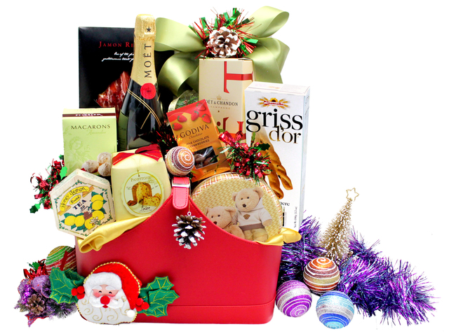 Seasonal Gifts - Christmas Gift Hamper N8 - P103987 Photo