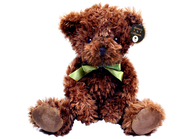 Teddy Bear n Doll - Barnes & Coleman Classic Chocolate Brown Teddy Bear - L098585 Photo