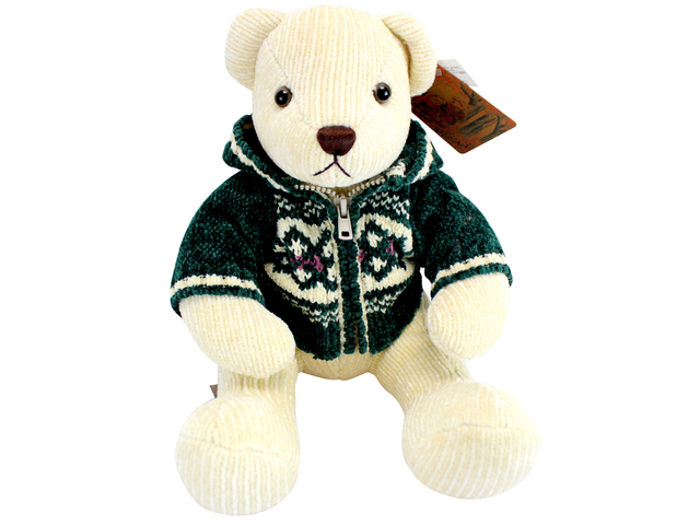 Teddy Bear n Doll - Color Rich Chenille Bear - L116293 Photo