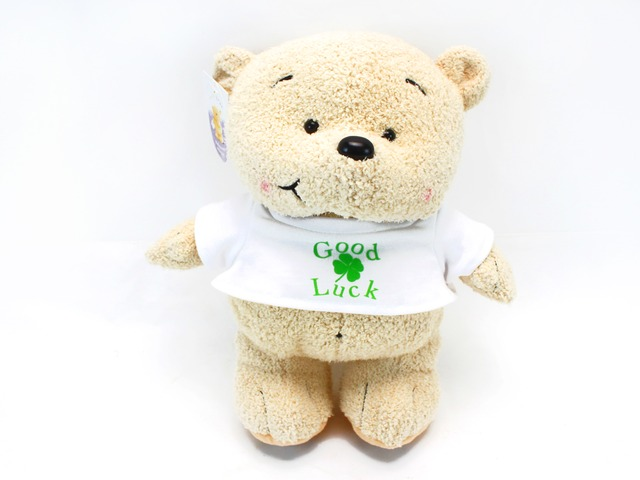 Teddy Bear n Doll - Good Luck teddy - L24678 Photo