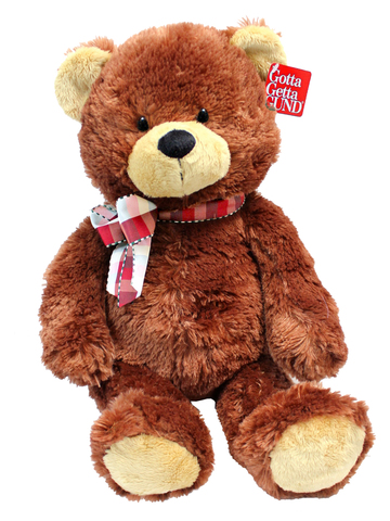 Teddy Bear n Doll - Gund Classic Brown Teddy Bear  - L176978 Photo