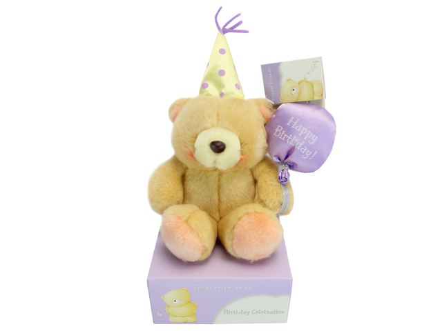 Teddy Bear n Doll - Hallmark Forever Friends Birthday Teddy - L134763 Photo