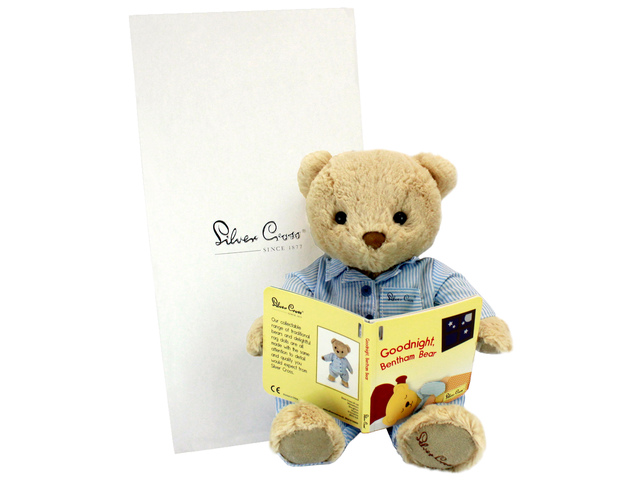 Teddy Bear n Doll - Silver Cross Bentham Bear - L136157 Photo