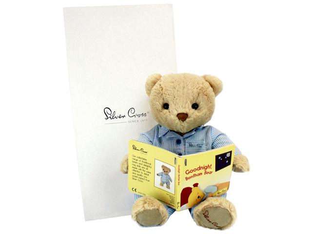 Teddy Bear n Doll - Silver Cross Bentham Bear - L136157 Photo