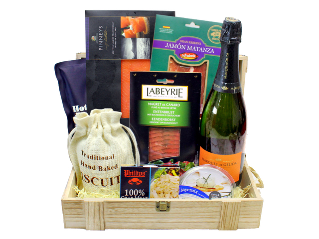 Wine n Food Hamper - Chilled Hamper F74 - L160657 Photo