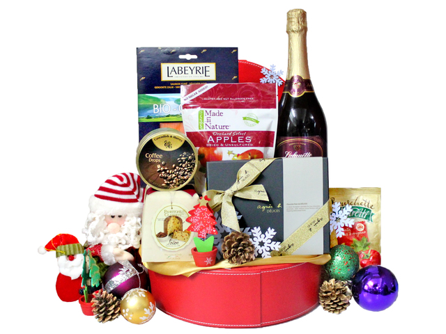 Wine n Food Hamper - Christmas Gift Hamper D - L19179 Photo