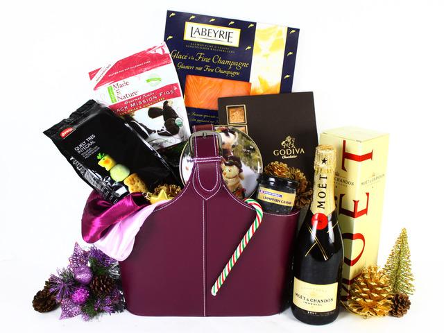 Wine N Food Hamper Christmas Gift Hamper J L19197