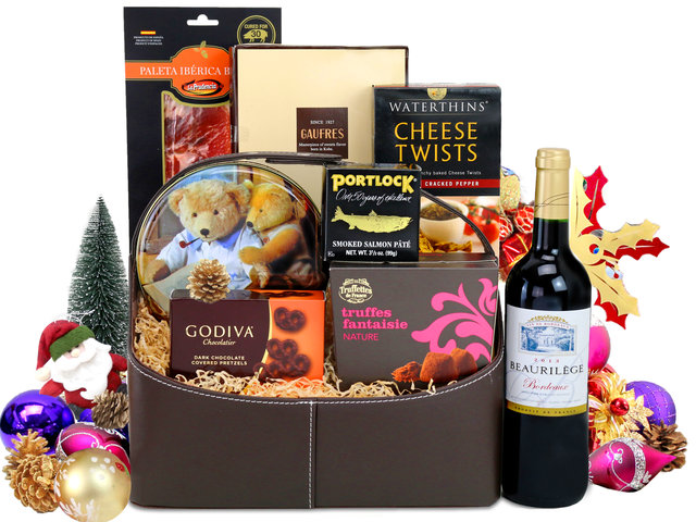 Wine n Food Hamper - Christmas Hamper L11 - L76606334A Photo