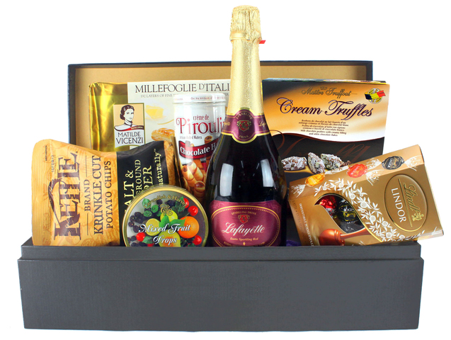Wine n Food Hamper - Food Gift Hamper L - L50853 Photo