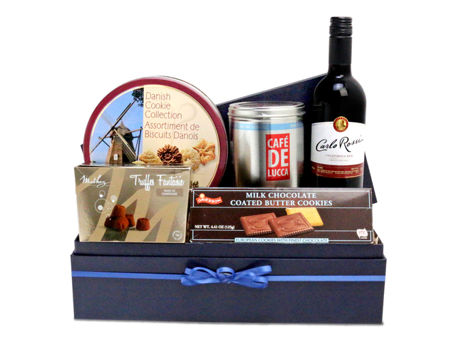 Wine n Food Hamper - Food gift hamper G2 - L76600276 Photo