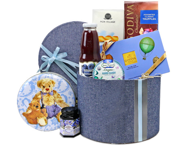 Wine n Food Hamper - Gift Hamper G35 - L76607188 Photo