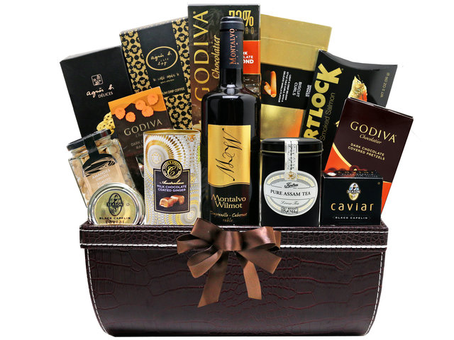 Wine n Food Hamper - Gift Hamper G45 - L76606843 Photo