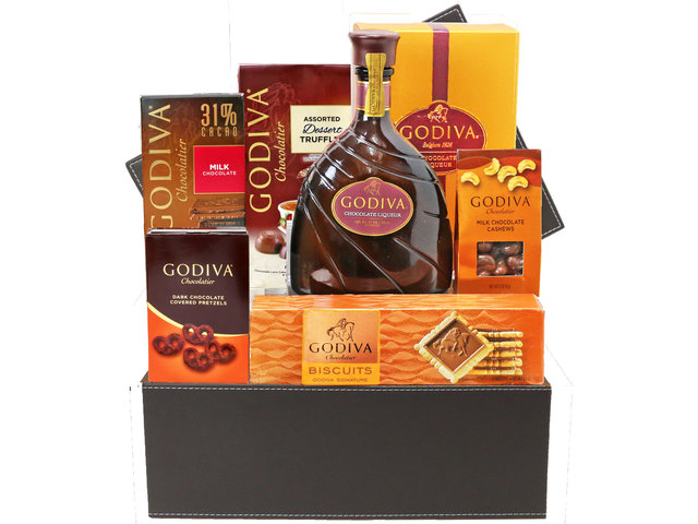 Wine n Food Hamper - Godiva Hamper G28 - L76604904 Photo