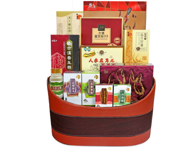 Wine n Food Hamper - Health care hamper C1 - L71610622 Photo